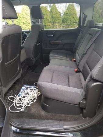 Under Seat Storage installed.