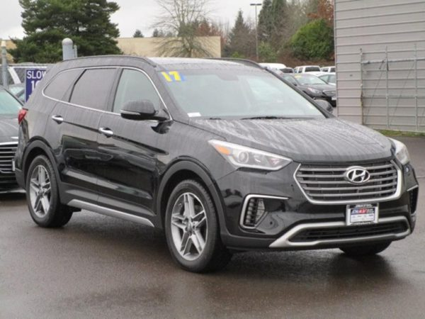 My original tow vehicle, a 2017 Hyundai Santa Fe Limited Ultimate